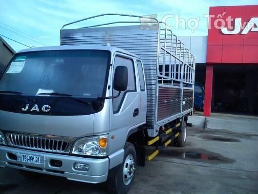 Đại lý bán xe tải jac 7t25/ 7,25 tấn/ 7tan25 thùng lửng thùng bạt thùng kín giá rẻ nhất tại Tp.