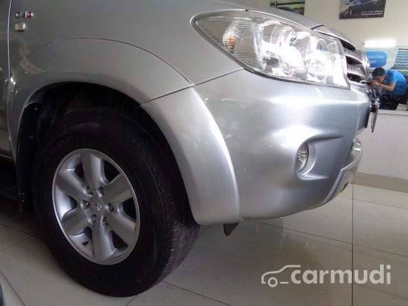 Xe Toyota Fortuner 2.5 G 2009 cũ màu bạc đang được bán