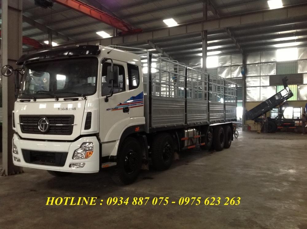 Bán xe tải Dongfeng Trường Giang 5 chân 21.8 tấn/21,8 tấn/21T8 thùng dài 9.5 mét