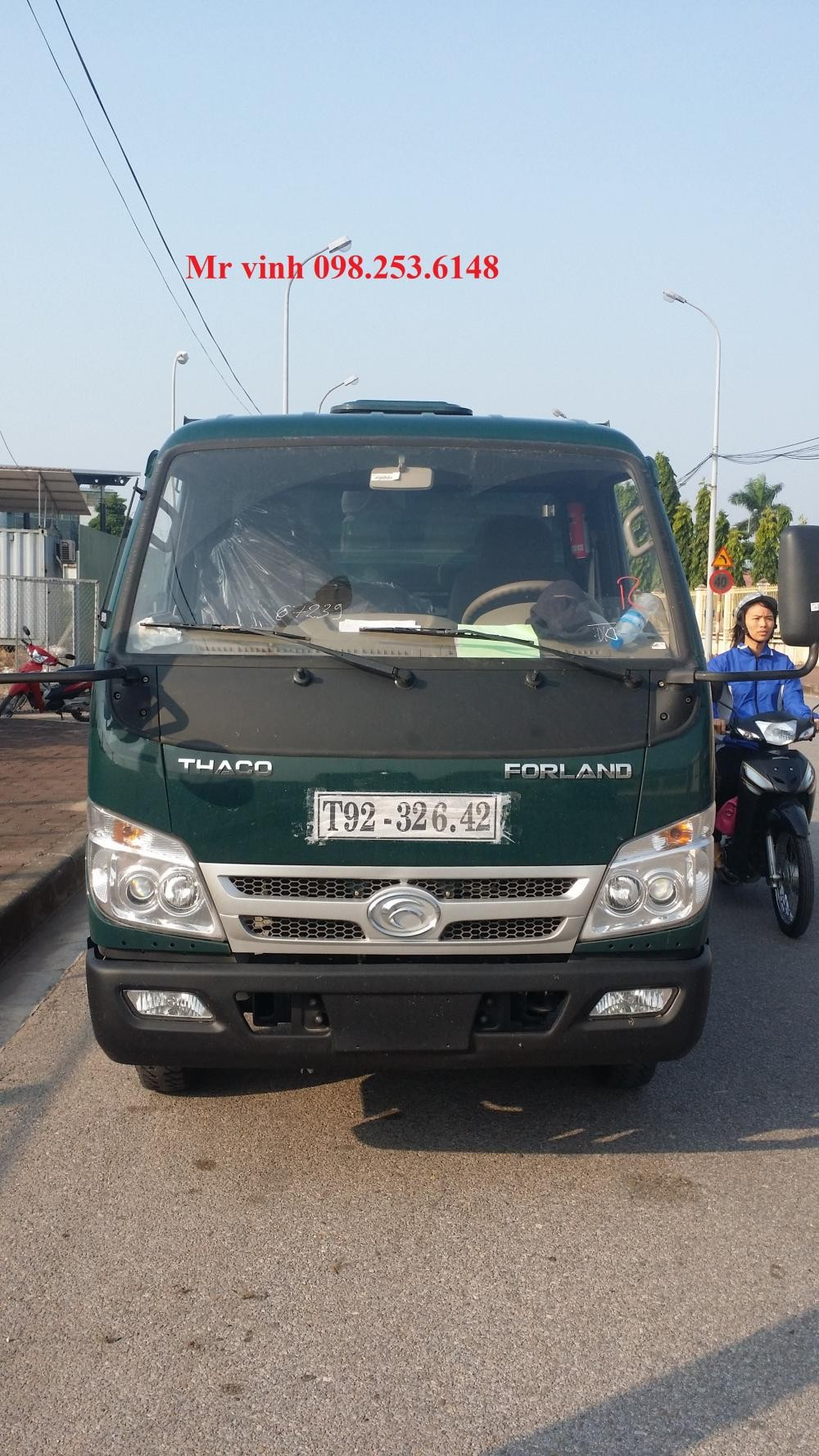 xe ben 3,5 tấn trường hải mới 100% liên hệ với Mr Vinh