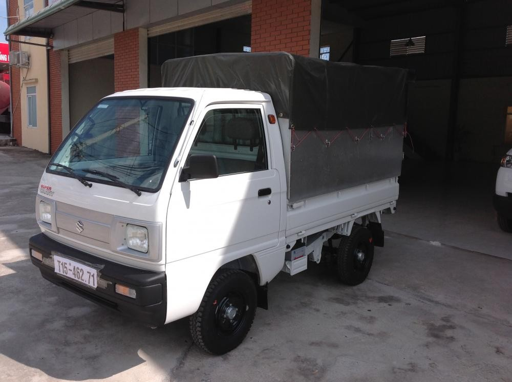 Bán ô tô Suzuki Super Carry Truck sản xuất 2014, màu trắng, 217 triệu