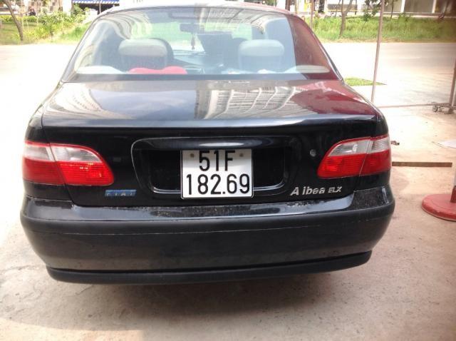 Bán Fiat Albea đời 2004, màu đen, xe nhập, xe gia đình