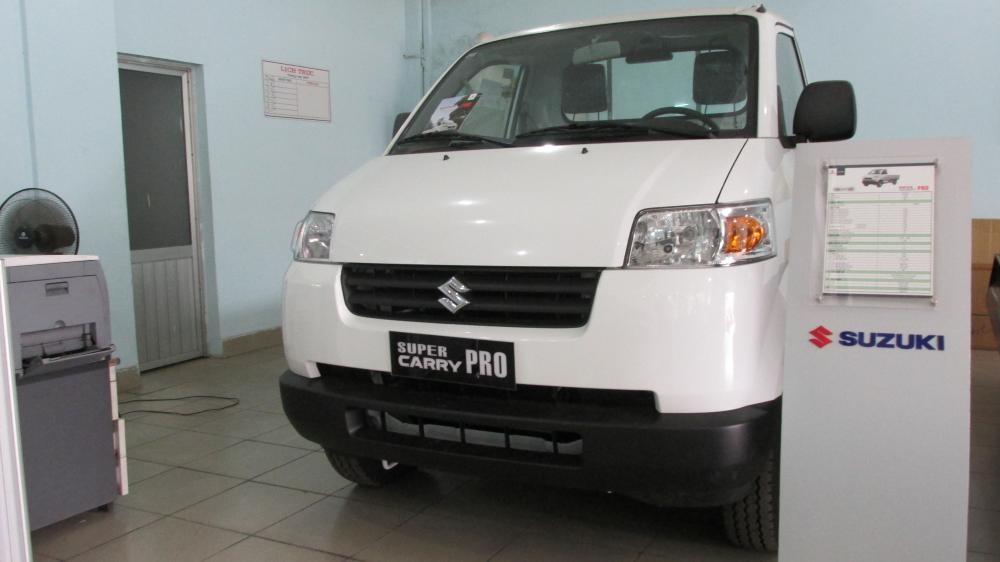 Bán xe Suzuki Super Carry Pro đời 2014, màu trắng, xe nhập, giá 278Tr