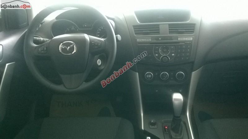 Bán Mazda BT 50 4x4 AT đời 2016, màu xám, nhập khẩu nguyên chiếc