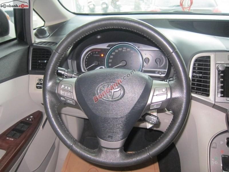 Bán Toyota Venza 2.7AT đời 2011, màu trắng, nhập khẩu