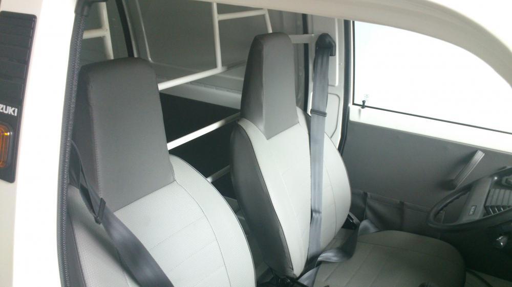 Bán ô tô Suzuki Super Carry Van Blind 2015, màu trắng, 249 triệu