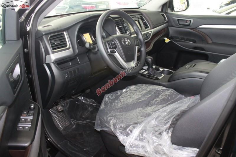 Bán Toyota Highlander LE đời 2015, màu đen, nhập khẩu