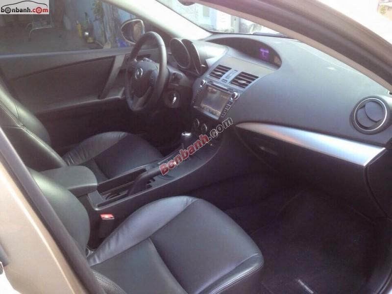 Bán Mazda 3 S đời 2013, màu xám, nước sơn zin 100%