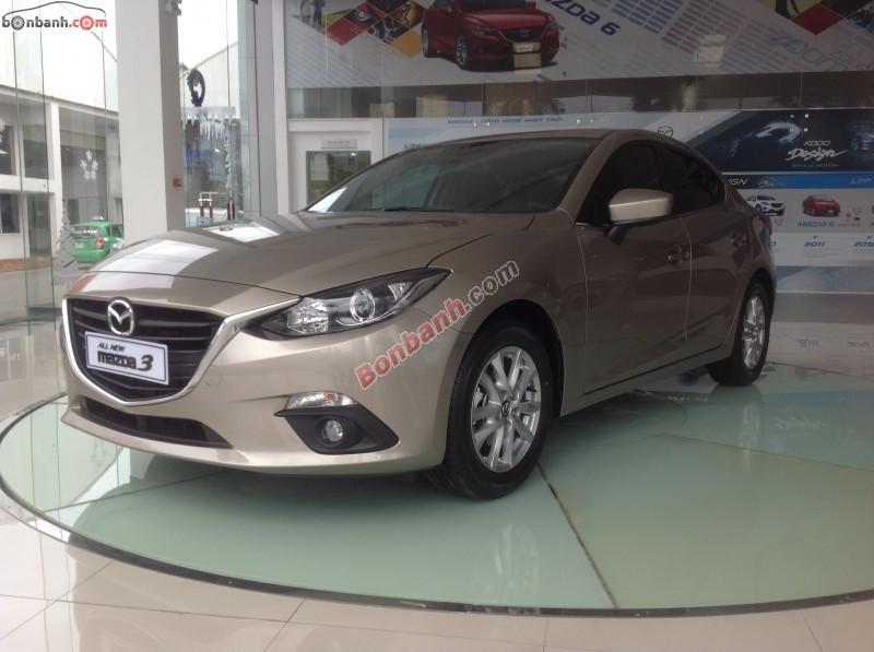 Cần bán Mazda 3 1.5 SD đời 2015, màu xám, giá chỉ 728 triệu