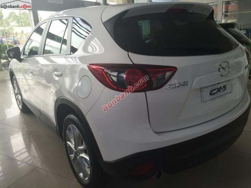 Cần bán Mazda CX 5 2WD đời 2015, màu trắng