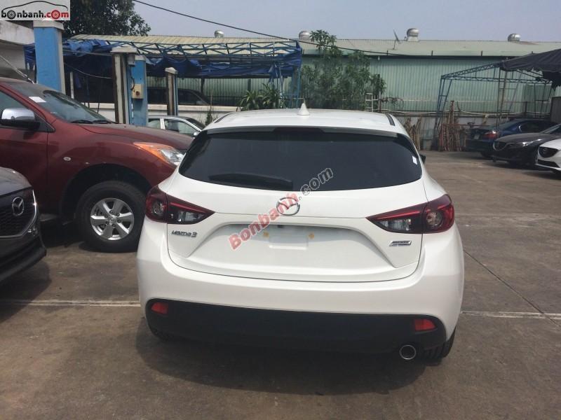 Bán ô tô Mazda 3 sản xuất 2015, màu trắng, giá chỉ 748 triệu