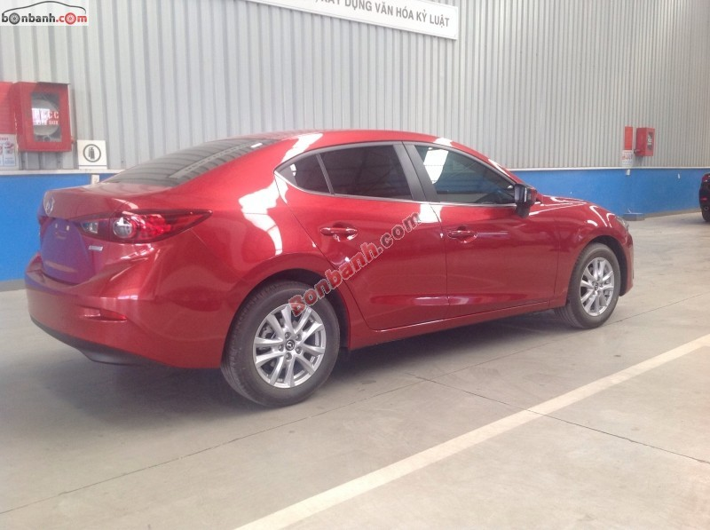 Bán xe Mazda 3 2.0 SD All New đời 2015, màu đỏ, giá chỉ 860 triệu