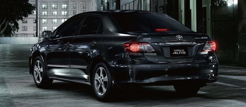 Bán ô tô Toyota Corolla Altis đời 2010, màu đen, còn mới, 750Tr