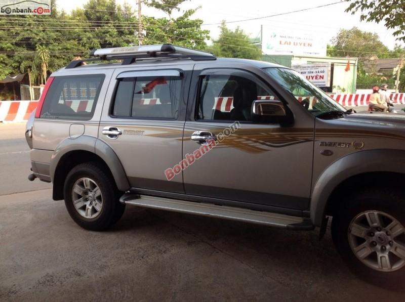 Bán Ford Everest 4x2 MT đời 2008, xe nhập, chính chủ