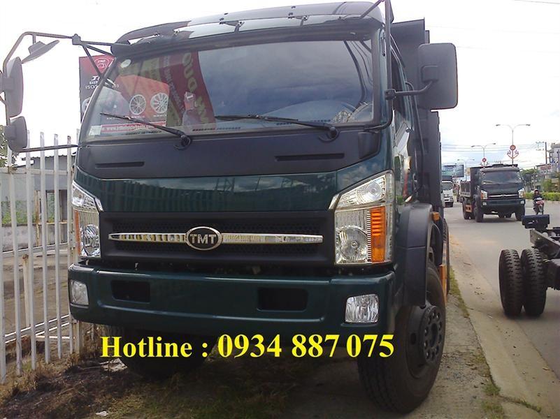 bán xe ben Cửu Long TMT 8 tấn (8 tấn)=xe ben tmt 8 tấn/8 tấn 1 cầu 4x2