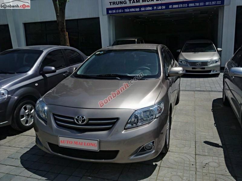 Auto Mai Long cần bán lại xe Toyota Corolla Altis 1.8 AT năm 2009, màu nâu, số tự động