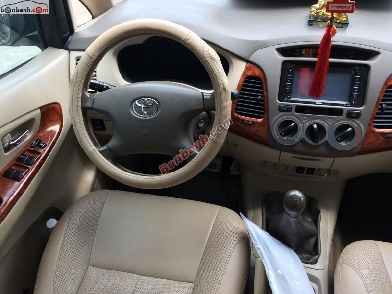 Cần bán lại xe Toyota Innova G 2006, xe đẹp