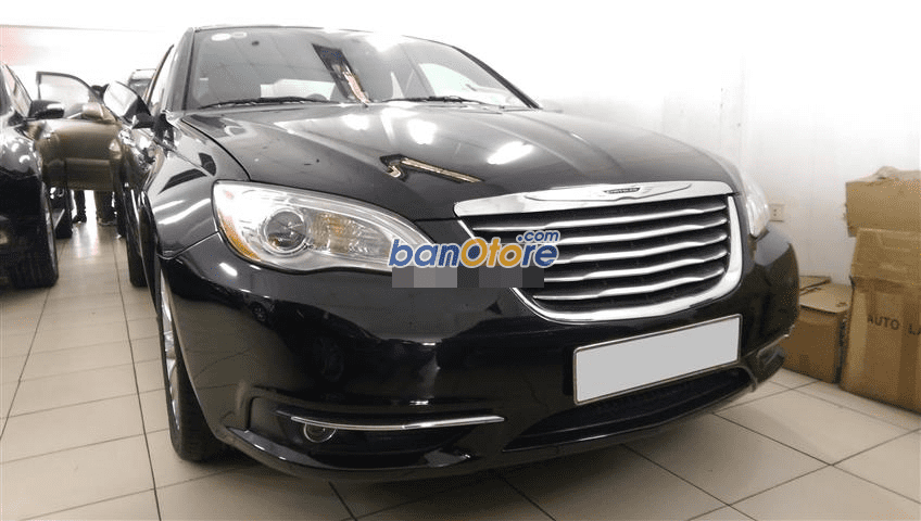 Minh Long Auto bán ô tô Chrysler Sebrinh đời 2011, màu đen, xe nhập