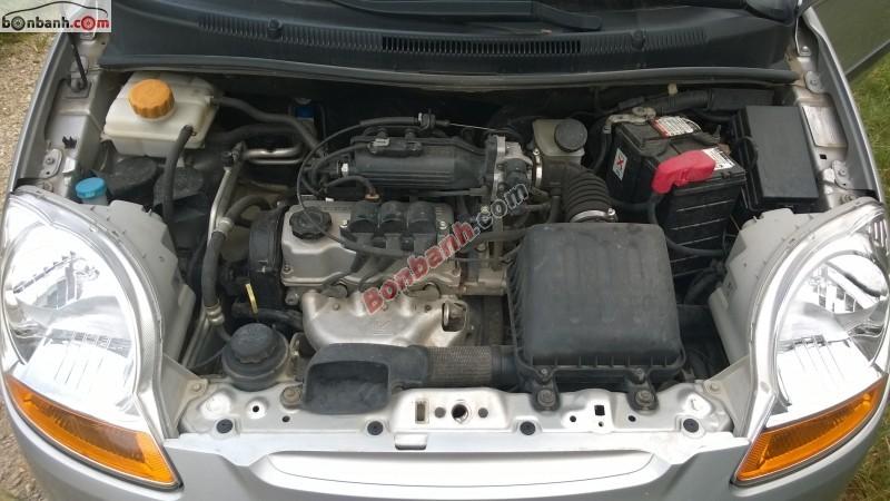 Bán xe Chevrolet Spark sản xuất 2010, màu bạc - Xe nguyên bản chưa đâm đụng