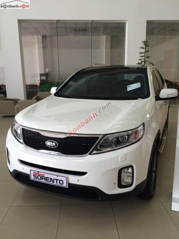 Bán xe Kia Sorento New GAT đời 2015, màu trắng, xe đẹp long lanh
