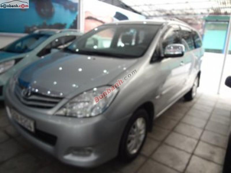 Ô tô Toyota Innova đời 2009, màu bạc, số sàn, gia đình cần bán
