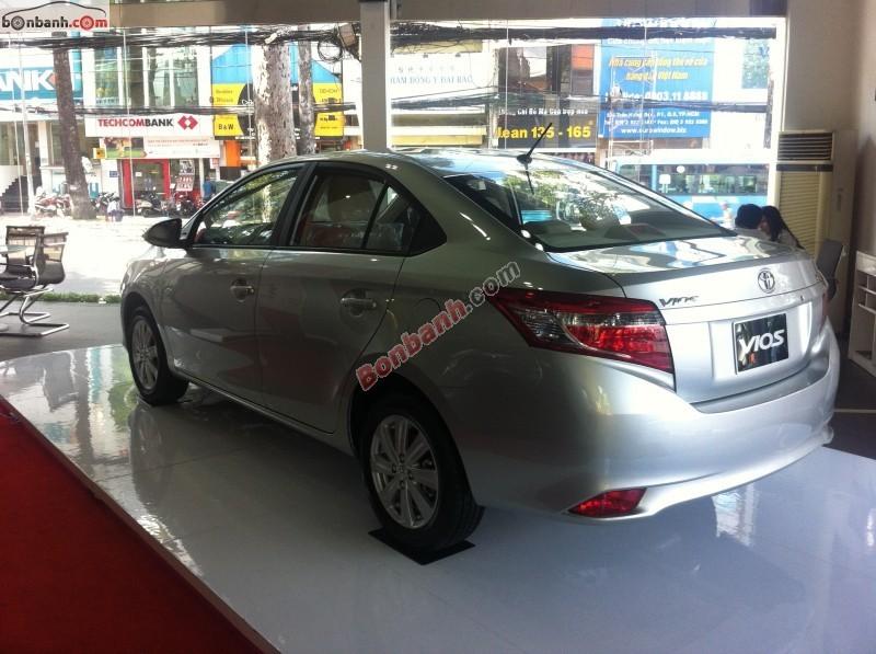 Bán xe Toyota Vios đời 2015  - Hỗ trợ tài chính với lãi suất cực thấp