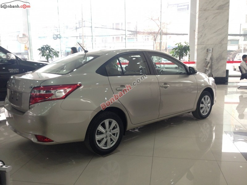 Bán ô tô Toyota Vios 1.5E năm 2015, xe đẹp