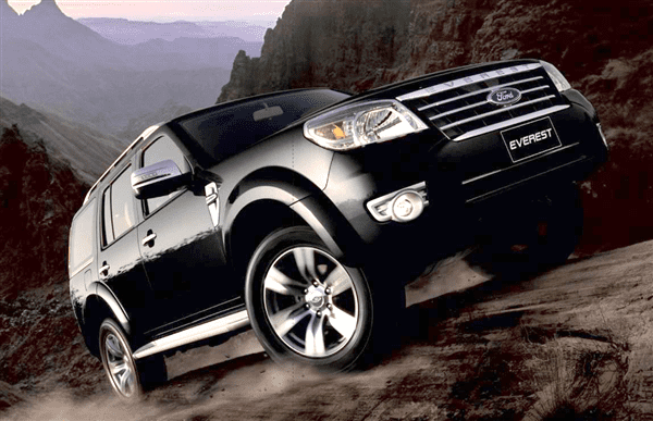 Xe Ford Everest  2013