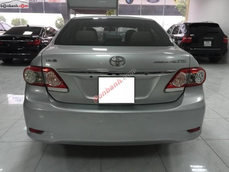 Bán Toyota Corolla Altis 1.8G đời 2010, màu bạc, số tự động