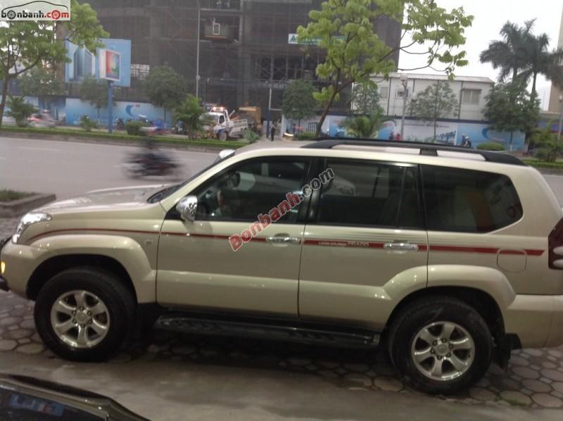 Xe Toyota Land Cruiser Prado GX 2.7 đời 2006, nhập khẩu Nhật Bản