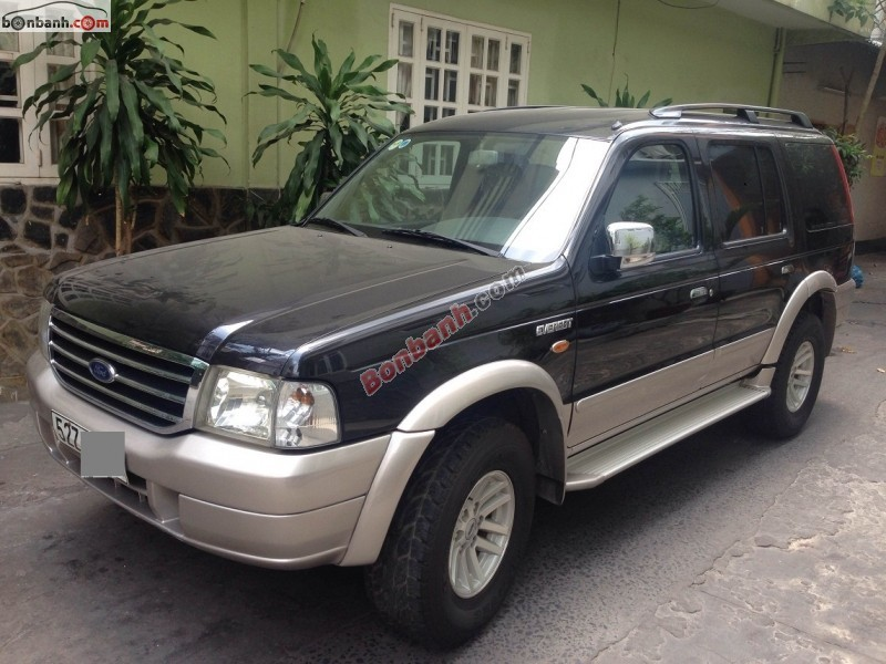 Xe Ford Everest 4x2 MT 2006