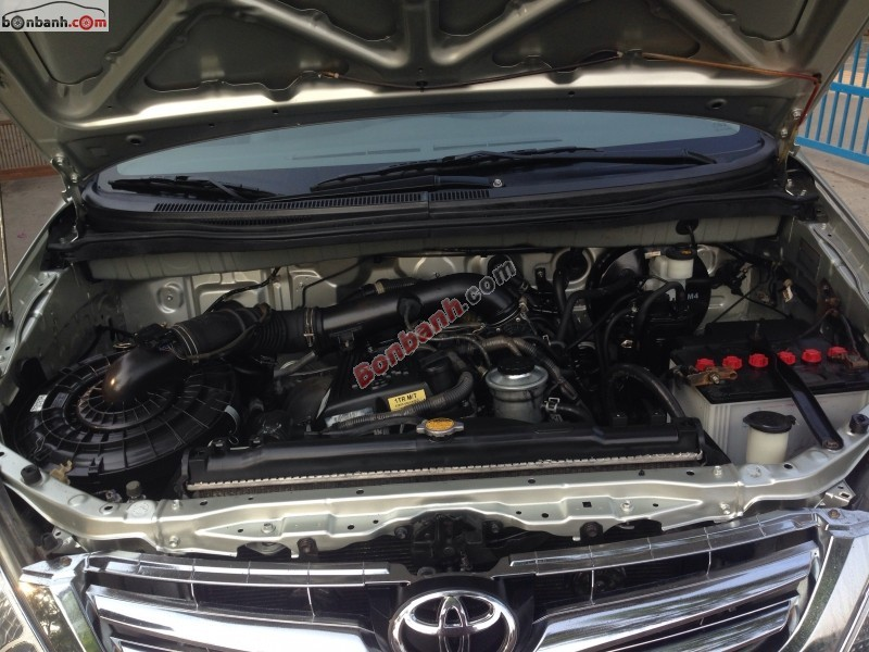 Cần bán xe Toyota Innova G đời 2008, màu bạc, 410 triệu