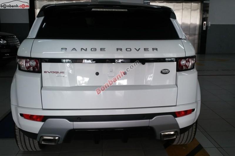 Xe LandRover Range rover Evoque 2014
