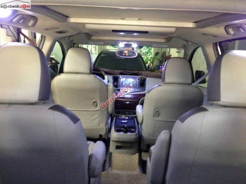 Xe Toyota Sienna 3.5 Limited 2010