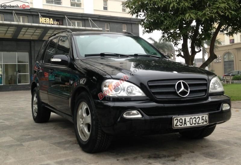 Xe Mercedes-Benz ML Class ML350 2003