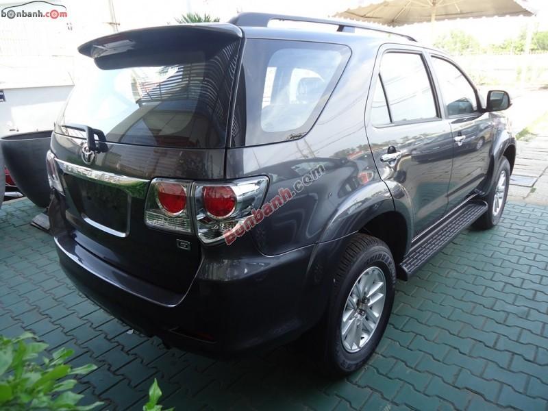 Xe Toyota Fortuner G 2015