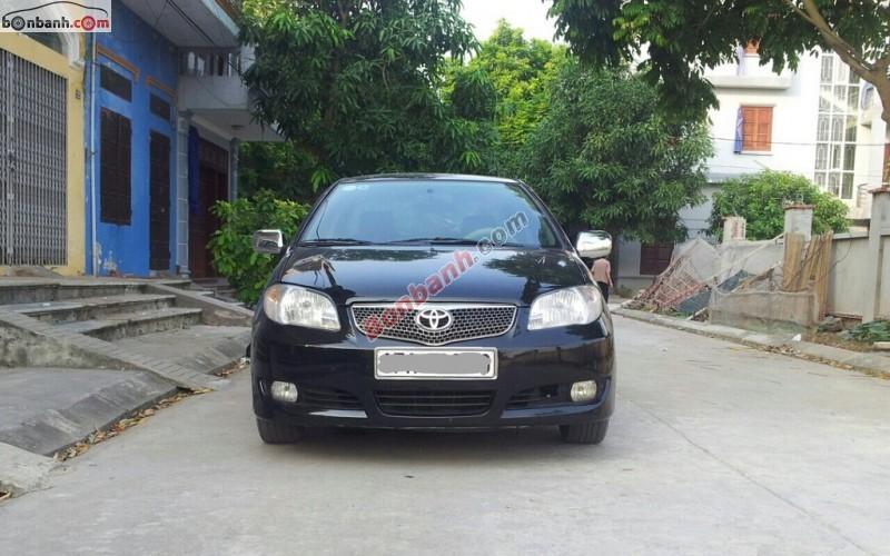 Xe Toyota Vios Bán    G  cũ tại Ninh Bình 2007