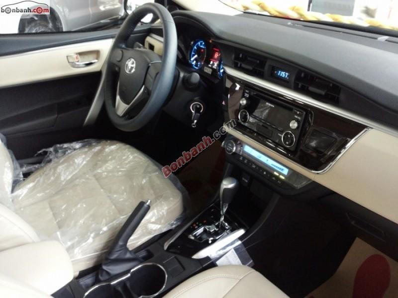 Xe Toyota Corolla altis Bán     mới tại Hà Nội 2015