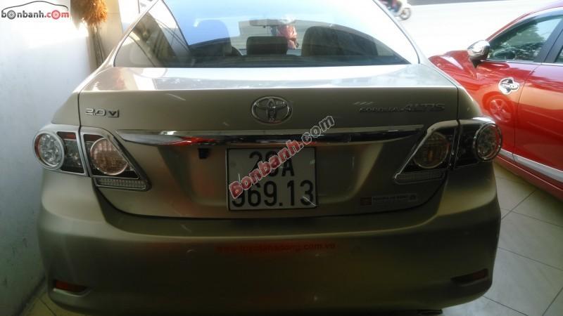 Xe Toyota Corolla altis Bán    2.0  cũ tại Hà Nội 2013