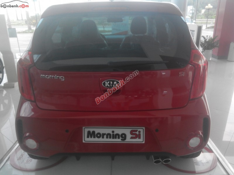 Bán Kia Morning SI AT đời 2015, màu đỏ
