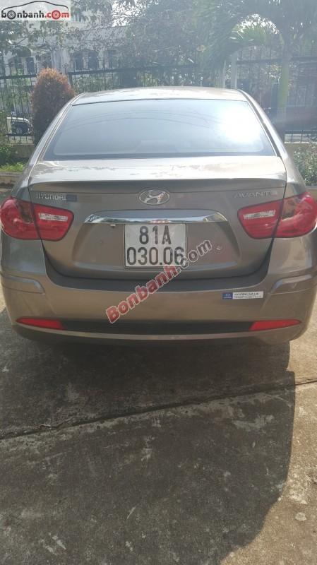Xe Hyundai Avante AT 2013, màu nâu còn mới, giá chỉ 515 triệu