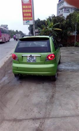 Cần bán lại xe Daewoo Matiz Lx năm 2003, màu xanh lam, chính chủ, giá chỉ 95 triệu