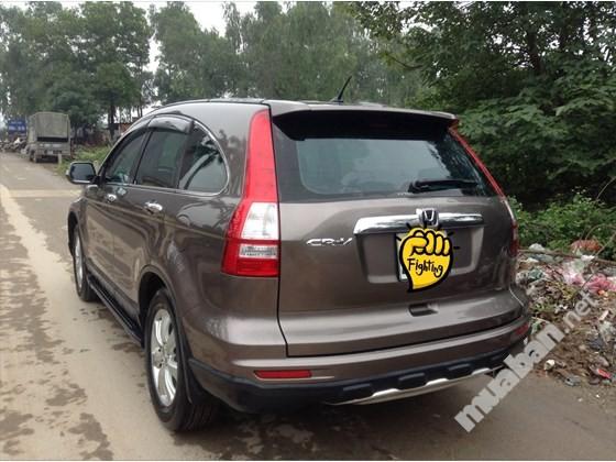 Cần bán lại xe Honda CR V đời 2012, màu nâu, nhập khẩu, số tự động