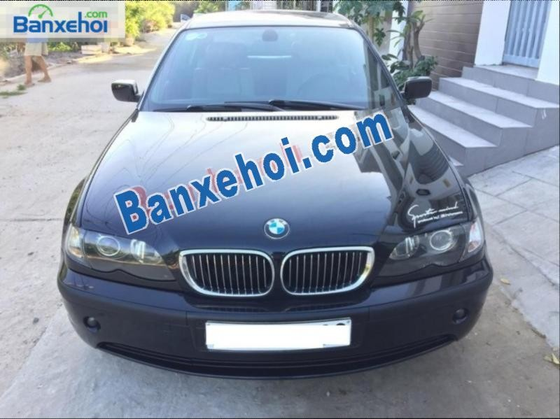 BMW 3 Series 325i đời 2004, màu đen số tự động