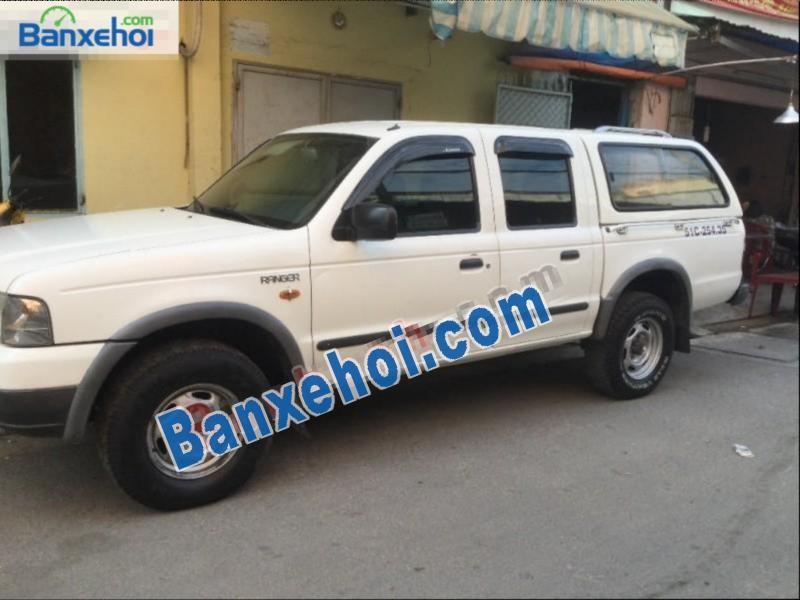 Cần bán xe Ford Ranger đời 2003, màu trắng, giá tốt