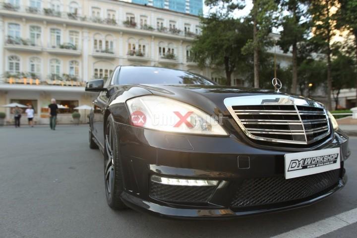 Bán Mercedes S500 đời 2005, màu đen, nhập khẩu