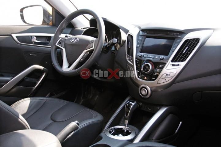 Bán Hyundai Veloster đời 2012, màu bạc, xe nhập