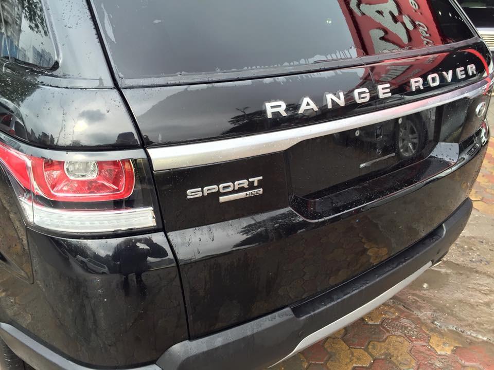 Xe LandRover Range rover 2014, màu đen, nhập khẩu nguyên chiếc