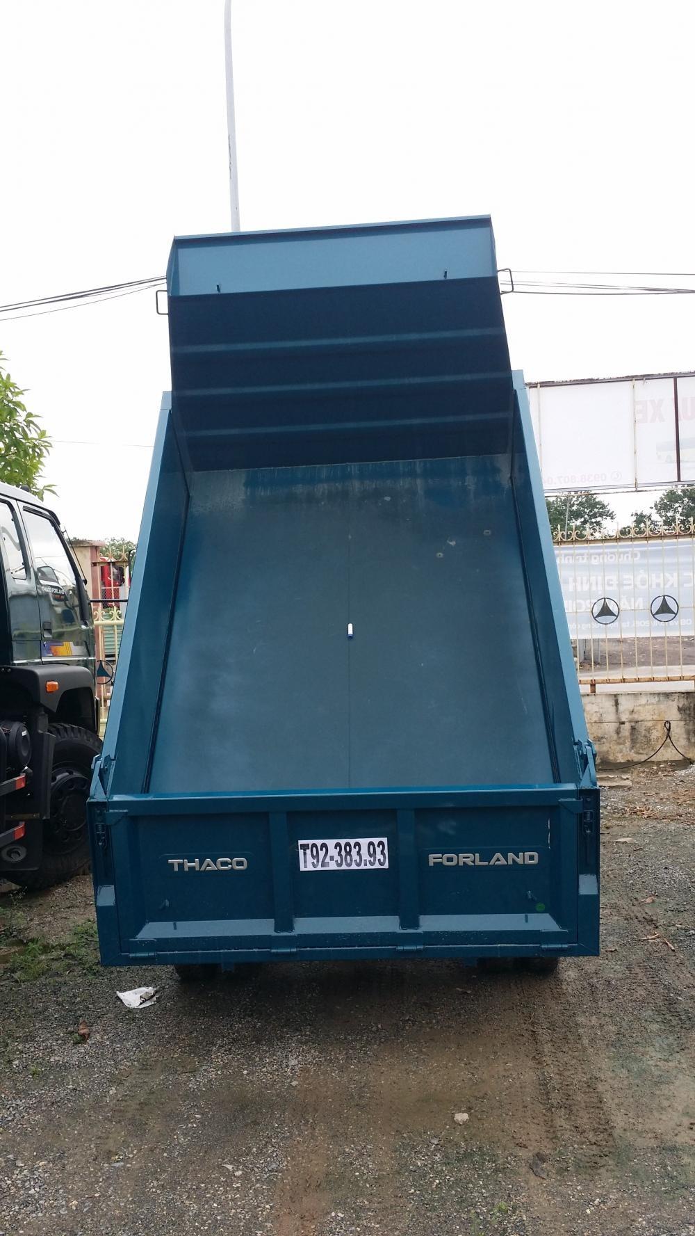 Xe tải ben 2.5 tấn trường hải FLD250c 1,8m3, xe ben 2.5 tấn nâng tải cửu long trường hải vay trả góp