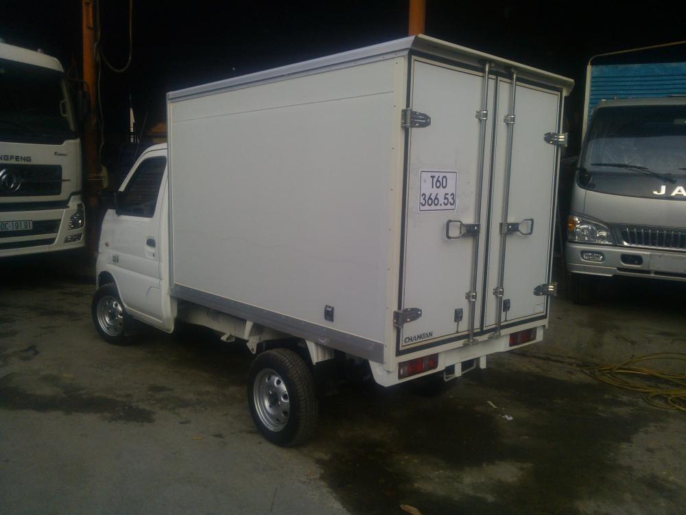 Chuyên mua bán xe tải veam 750kg thùng kín, đời mới, vay 90% - xe tải nhỏ 750kg thùng kín